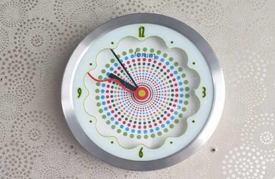 Ρολόι Τοίχου Olivia 25cm