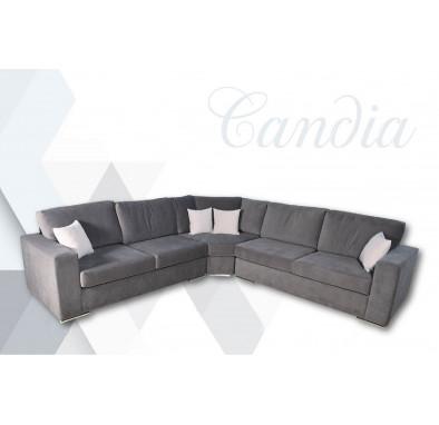 Γωνιακός Καναπές Candia