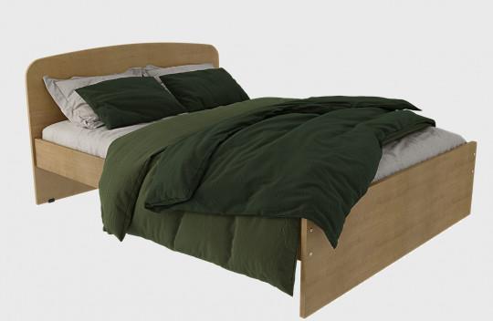 Κρεβάτι Μονό Οβάλ