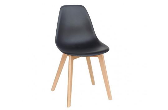 Καρέκλα Κουζίνας Loft Μάυρη