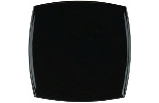 Luminarc Quadrato Noir Πιάτο Ρηχό Πορσελάνης Black