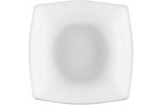 Luminarc Quadrato Blanc Πιάτο Βαθύ Πορσελάνης White