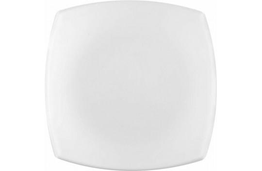 Luminarc Quadrato Blanc Πιάτο Γλυκού Πορσελάνης White