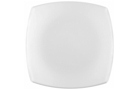 Luminarc Quadrato Blanc Πιάτο Ρηχό Πορσελάνης White
