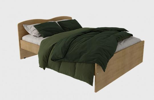 Κρεβάτι Ημίδιπλο Κύμα