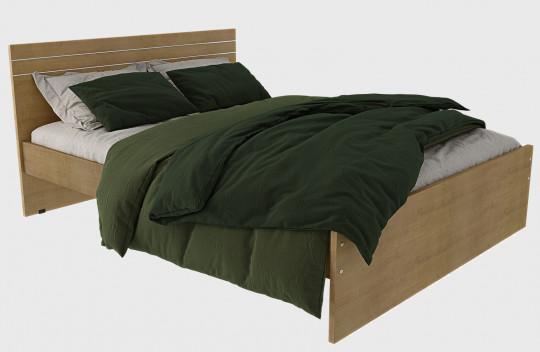 Κρεβάτι Ημίδιπλο Ίριδα