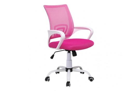 Καρέκλα Γραφείου BS1850W Ρόζ