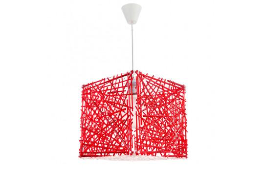 Φωτιστικό Μονόφωτο Plexiglass Κόκκινο