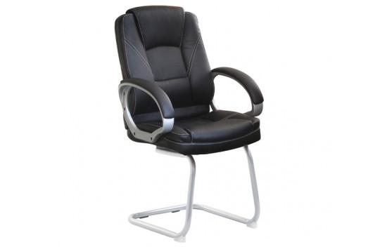 Καρέκλα Επισκέπτη BS5600V Μάυρη