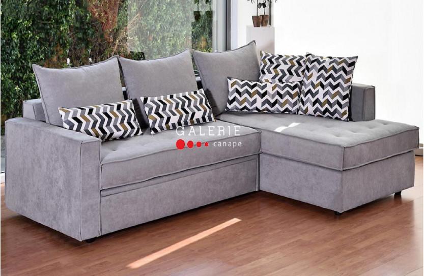Γωνιακός Καναπές με Μηχανισμό Κρεβάτι Teo