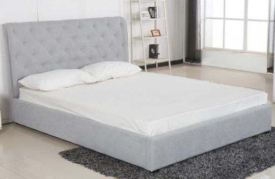 Κρεβάτι Διπλό XS No1 Γκρι