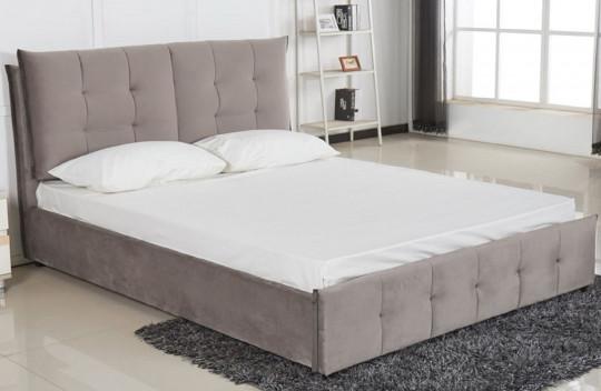 Κρεβάτι Διπλό XS Μπέζ Καφέ Stich