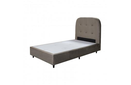 Κρεβάτι Ημίδιπλο Amsterdam Μπέζ