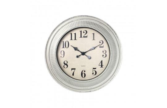 Ρολόι Τοίχου Αντικέ 61cm Λευκό