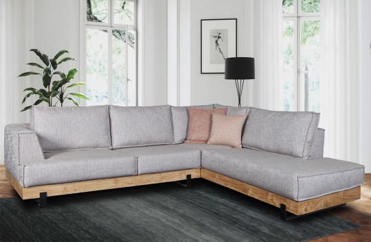 Γωνιακός Καναπές Rustic