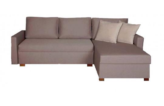 Γωνιακός Καναπές με Μηχανισμό Κρεβάτι Viva