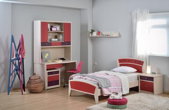 Κρεβάτι Μονό Ιρις Ν01