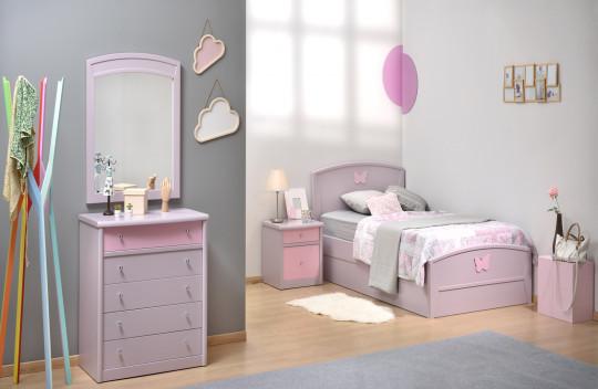 Κρεβάτι Μονό Ιρις Ν03